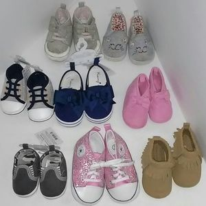 Other - Mixed brand and size group of baby shoes